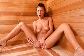 Русское порно в бане не только шикарное, но и поучительное